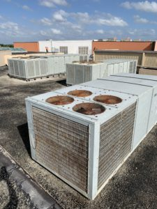 commercial air conditioning system we serviced
